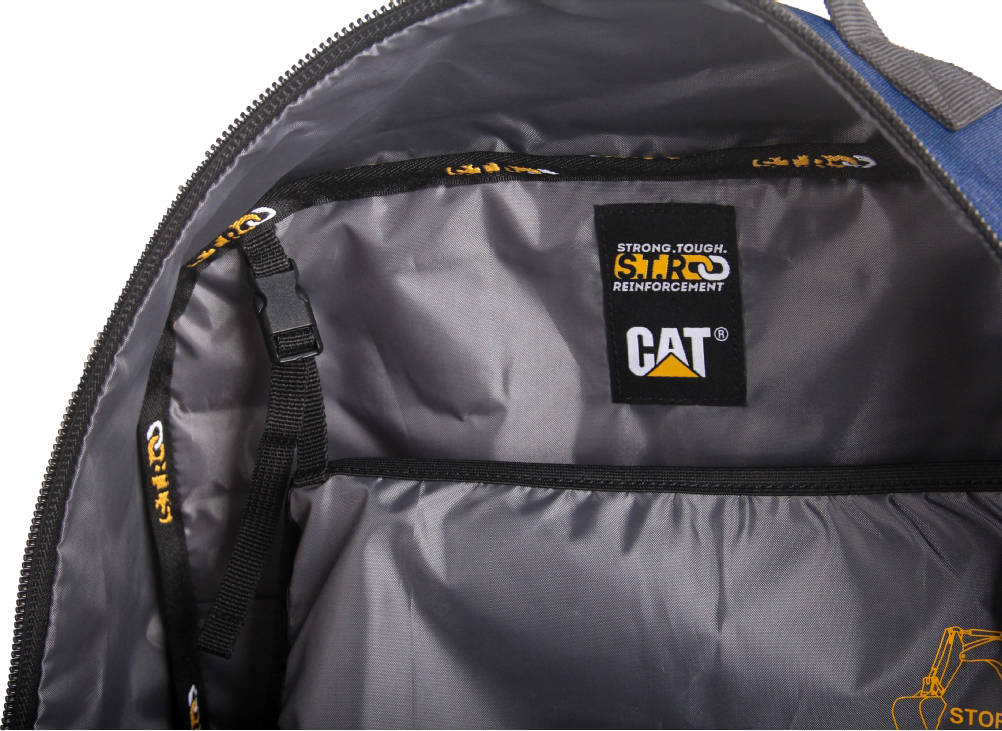 Duży Plecak CAT Caterpillar Cabin Cargo niebieski