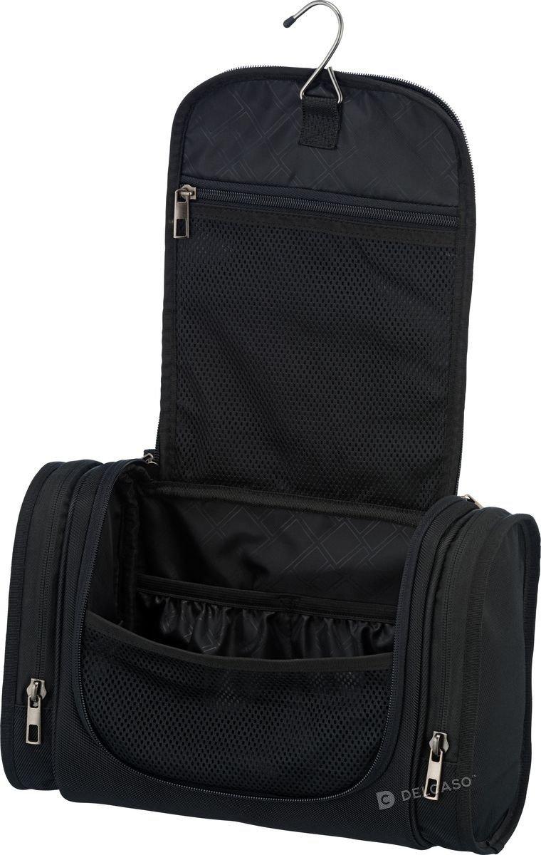 Kosmetyczka Travelite Mobile pozioma czarna