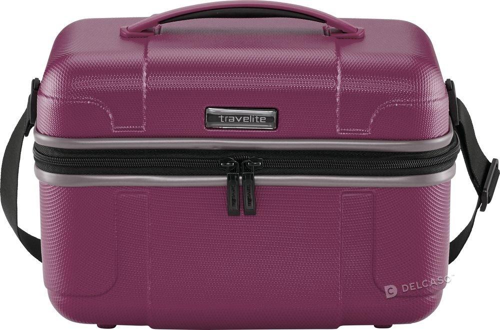 Kuferek / Kosmetyczka Travelite Vector fioletowy
