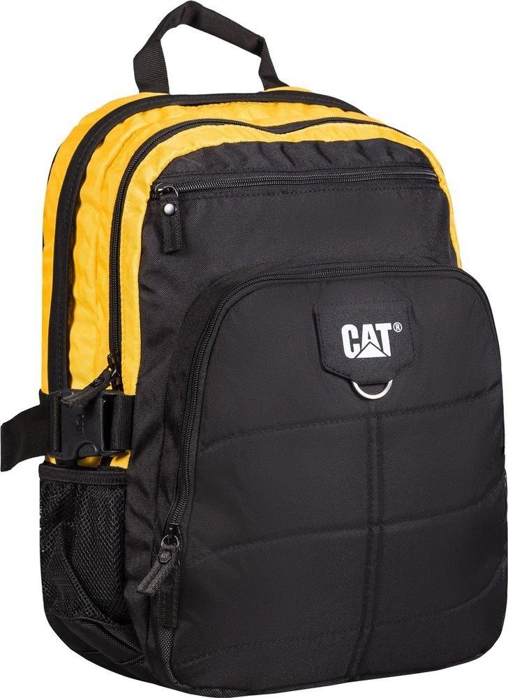 "Plecak Brent na laptopa do 15,6"" CAT Caterpillar czarno-żółty"