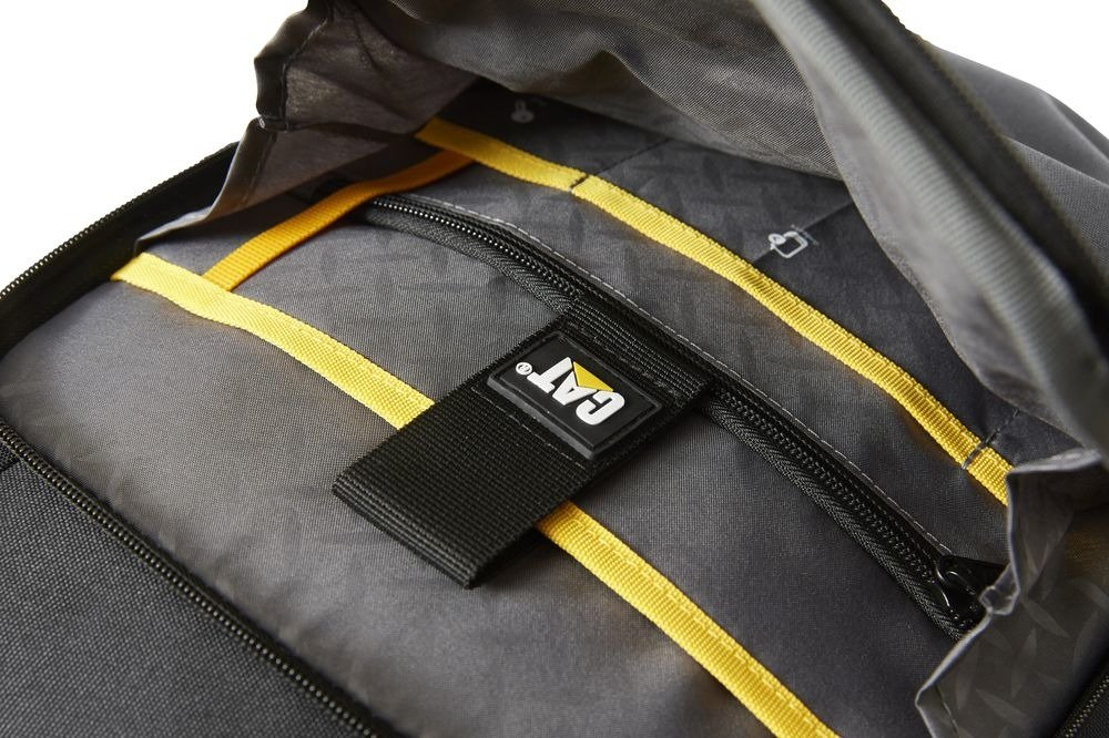 "Plecak CAT Caterpillar na laptopa do 15,6"" London Bizz Tools czarny"