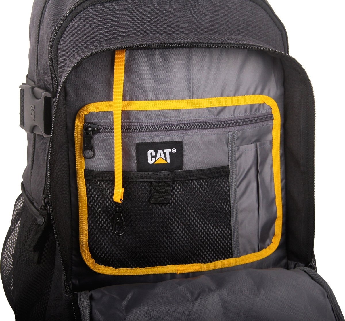 "Plecak Kenneth na laptopa do 15,6"" CAT Caterpillar szary"