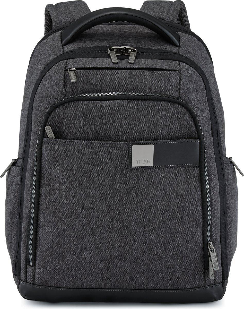 "Plecak na laptopa do 15,6"" Titan Power Pack antracytowy"