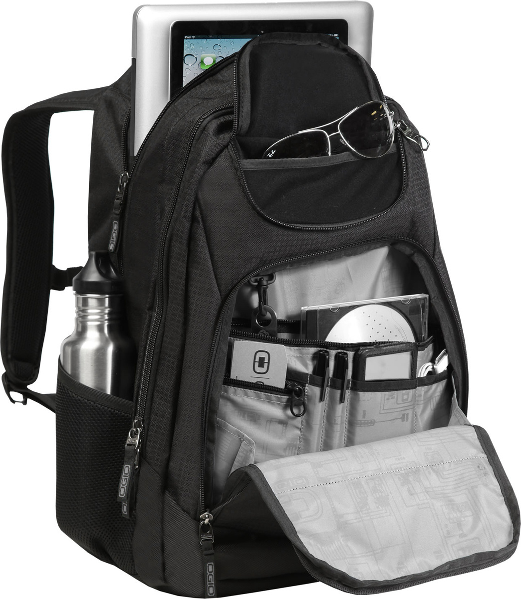 """Plecak na laptopa do 17"""" Ogio Tribune 40 L czarny"""