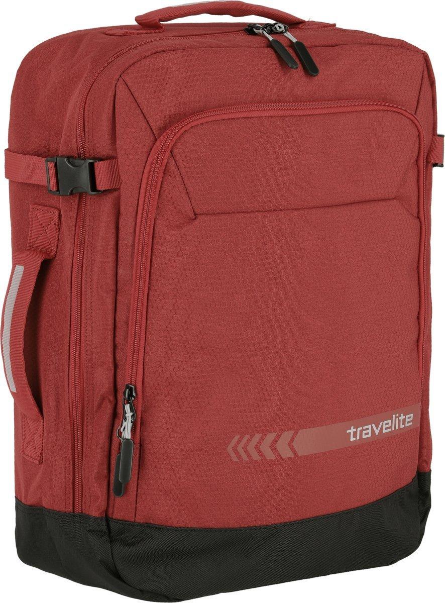 Plecak torba podręczna Travelite Kick Off 35L czerwony