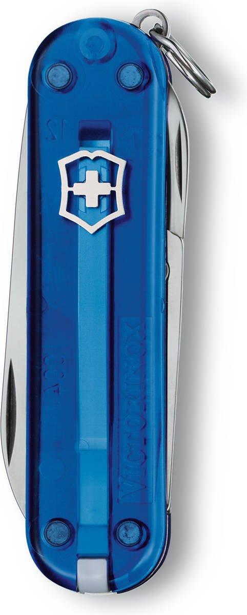Scyzoryk Victorinox Classic SD niebieski przeźroczysty 0.6223.t2