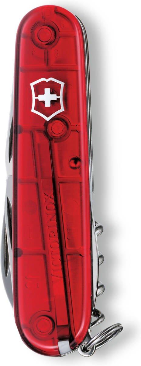 Scyzoryk Victorinox Spartan czerwony przeźroczysty