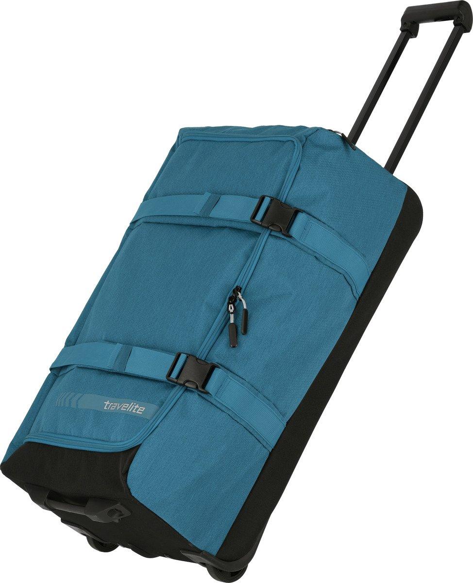 Torba podróżna na kółkach L Travelite Kick Off niebieska