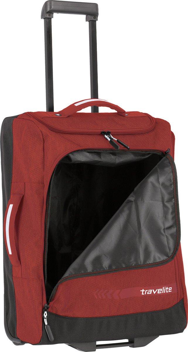 Torba podróżna na kółkach S Travelite Kick Off czerwona