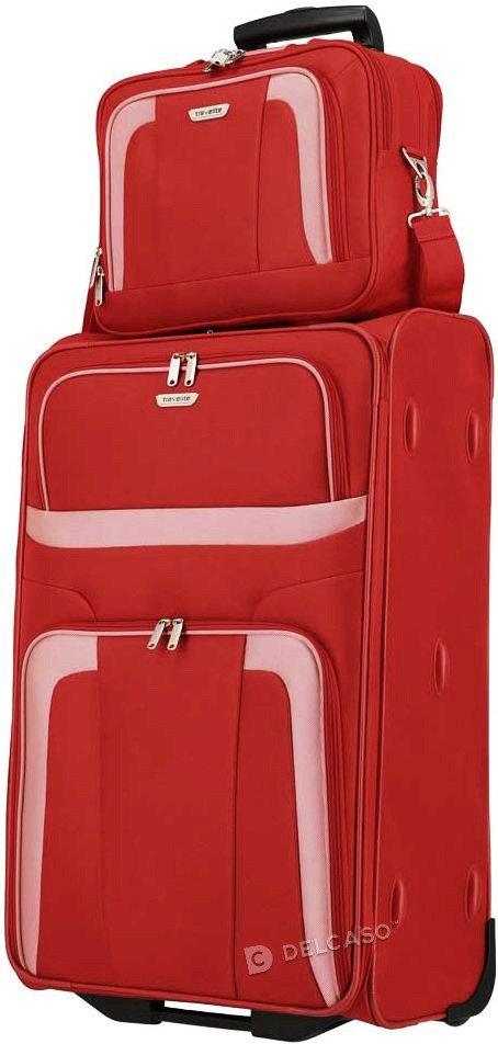 Torba pokładowa - kabinowa Travelite Orlando czerwony