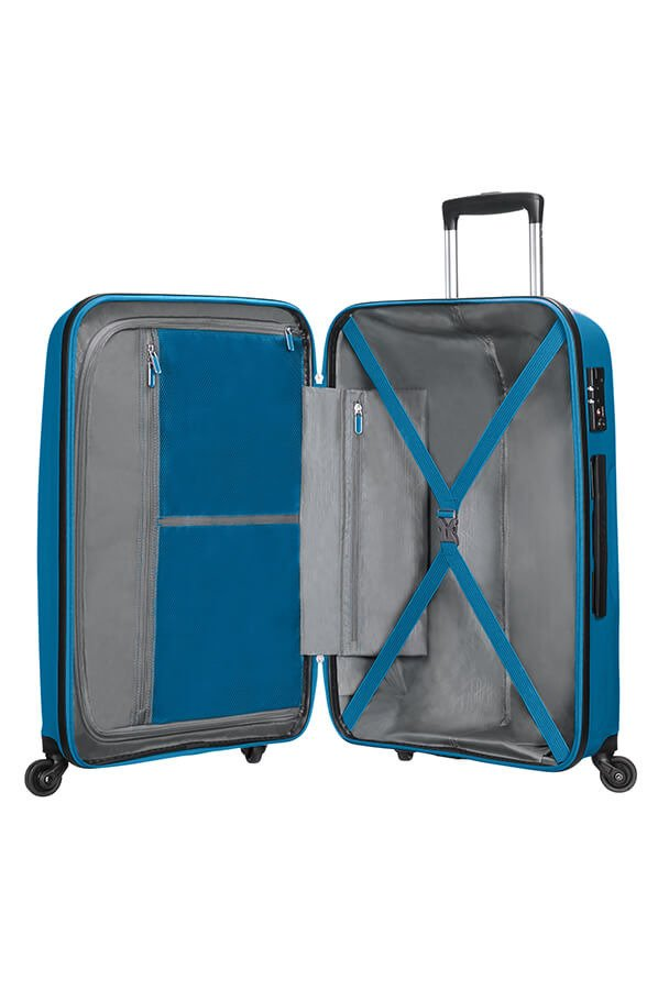 Walizka American Tourister Bon Air 75 cm niebieska