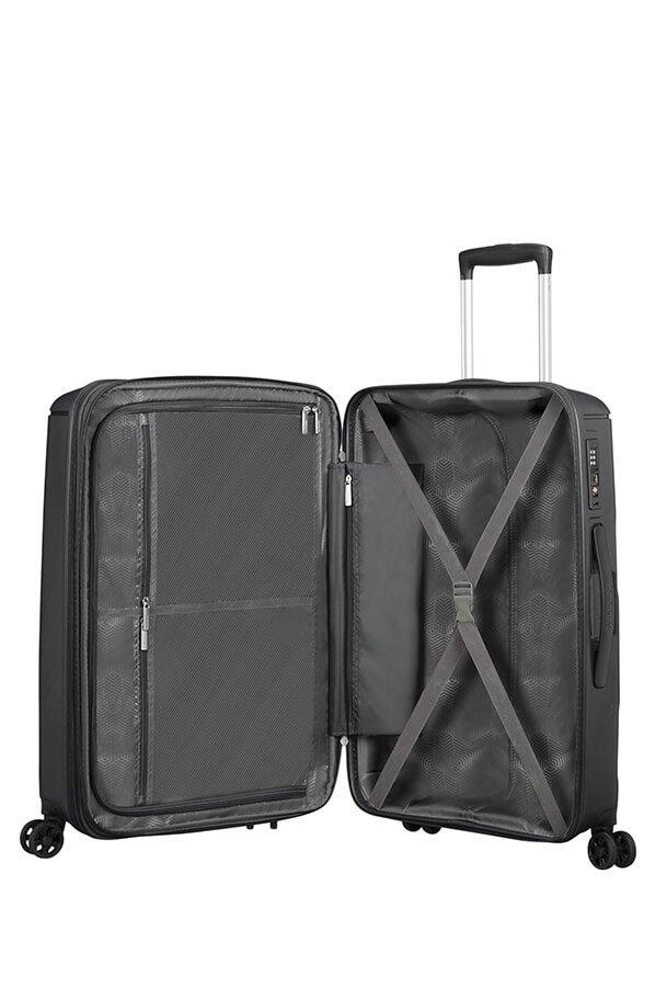 Walizka American Tourister Sunside 68 cm powiększana czarna