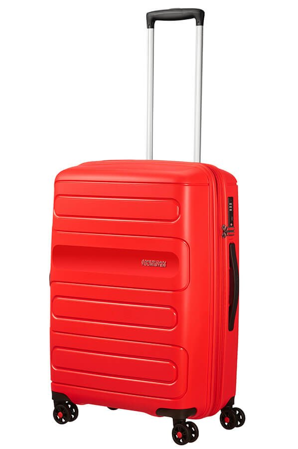 Walizka American Tourister Sunside 68 cm powiększana czerwona