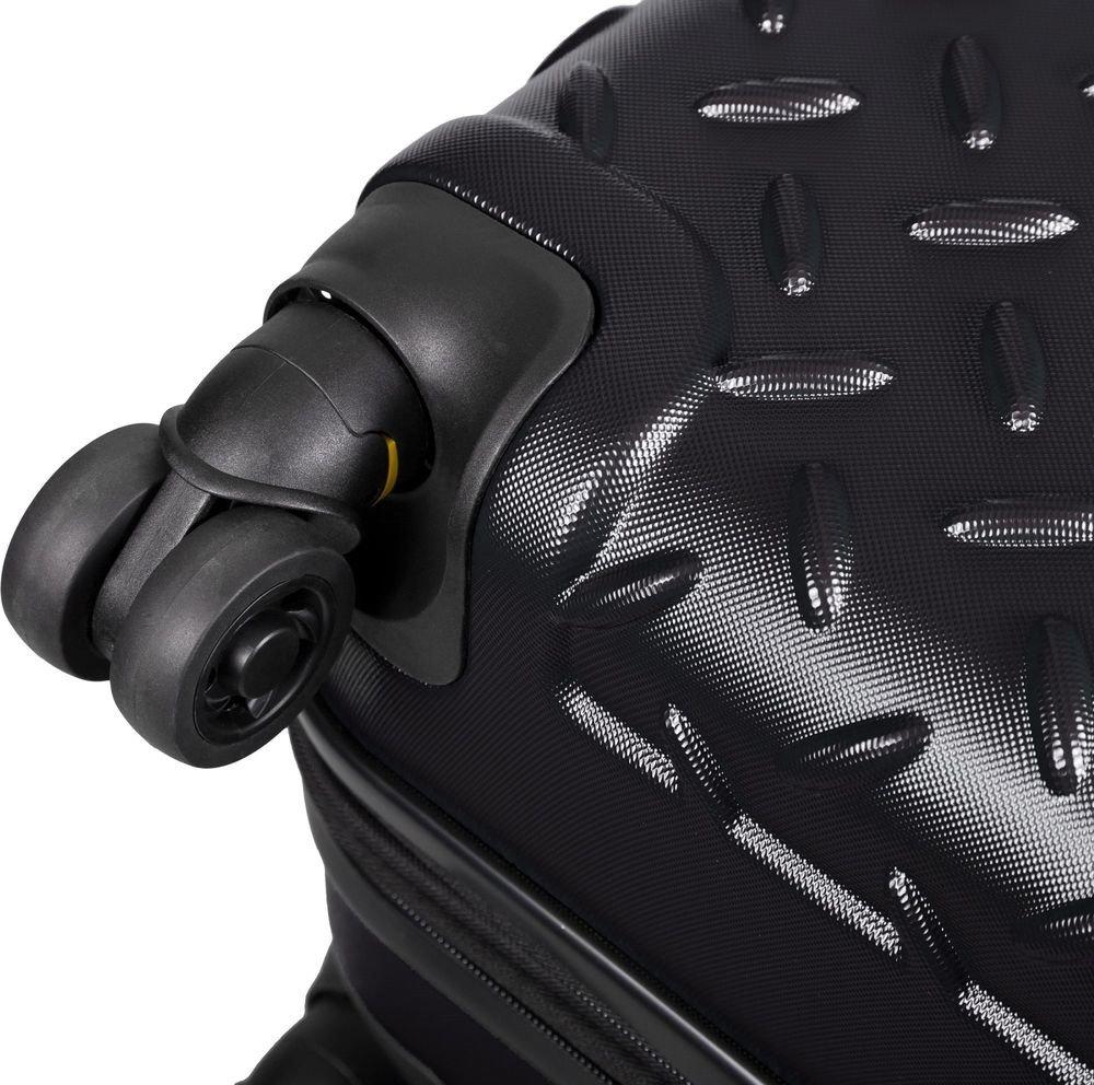 Walizka duża Cat Caterpillar Industrial Plate 74,5 cm czarna