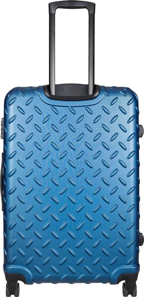 Walizka duża Cat Caterpillar Industrial Plate 74,5 cm niebieska