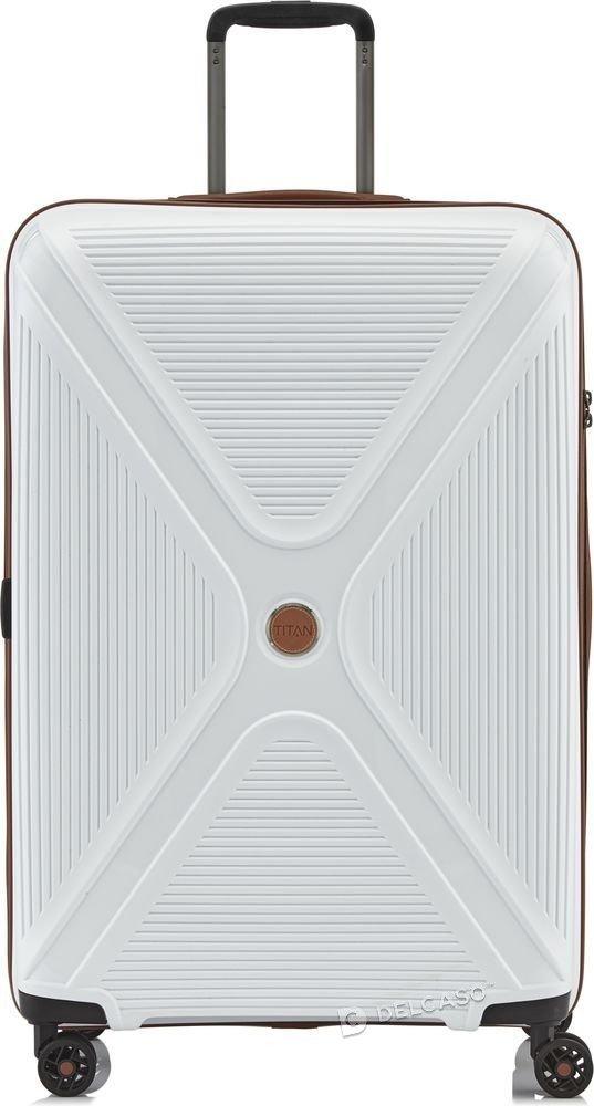 Walizka duża Titan Paradoxx 77 cm biała