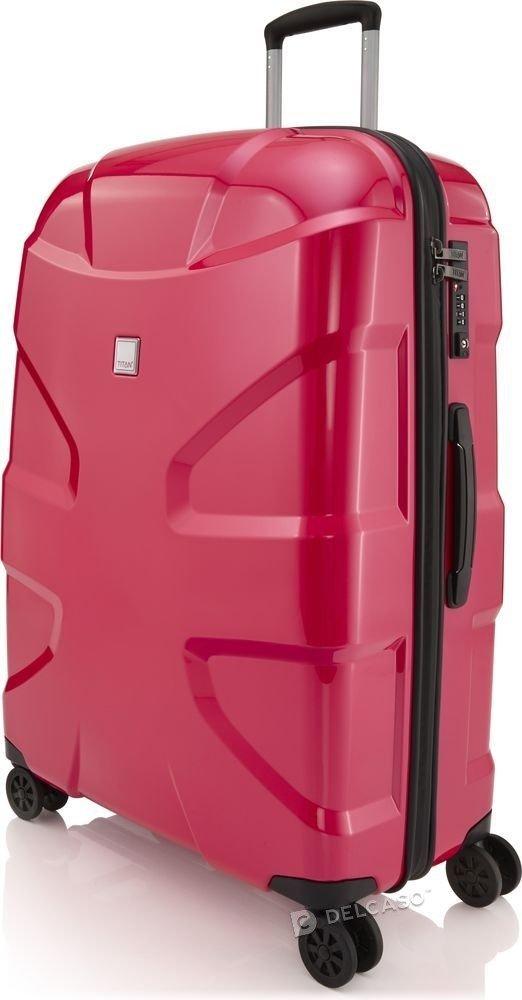 Walizka duża Titan X2 Flash 76 cm różowa