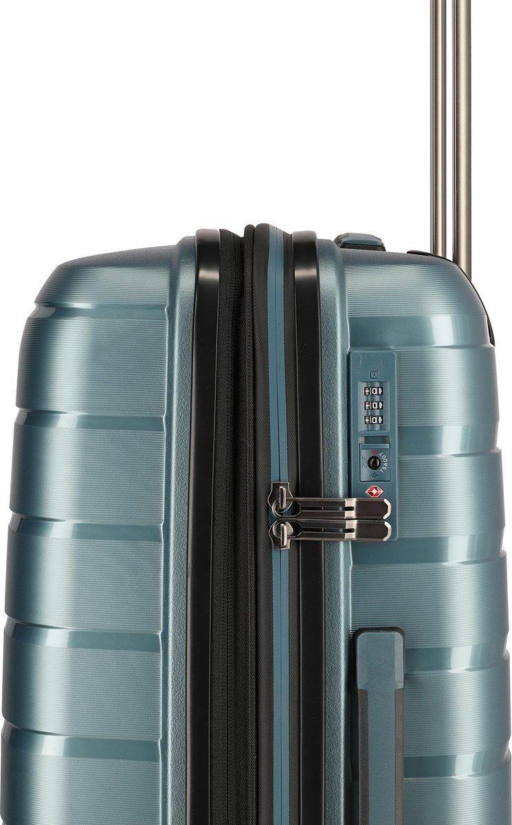 Walizka duża Travelite Air Base 77 cm niebieska