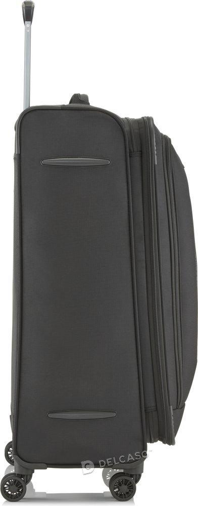 Walizka duża poszerzana Travelite CrossLite 77 cm czarna