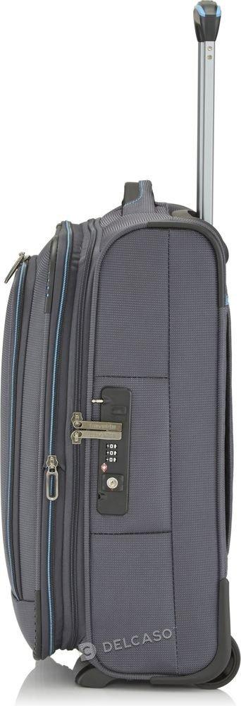 Walizka kabinowa 2-kółkowa Travelite CrossLite 55 cm mała antracytowa