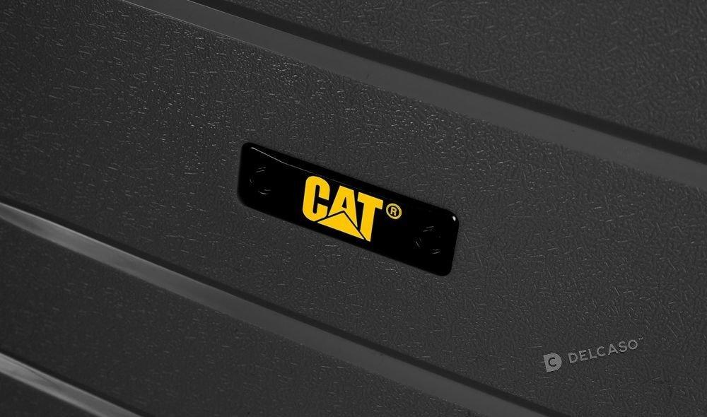 Walizka kabinowa Cat Caterpillar Crosscheck 56 cm mała czarna