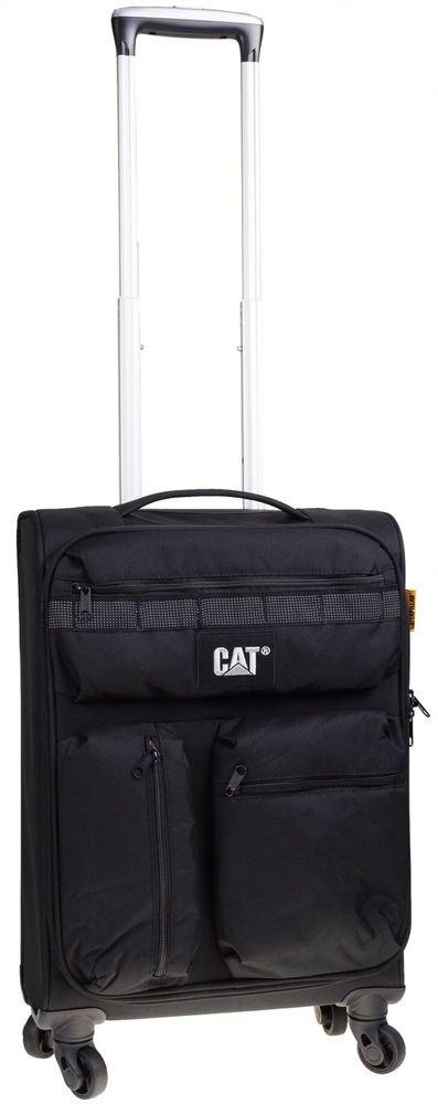 Walizka kabinowa Cat Combat Visiflash 57 cm mała czarna