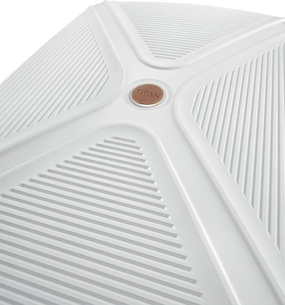 Walizka kabinowa Titan Paradoxx 55 cm mała biała