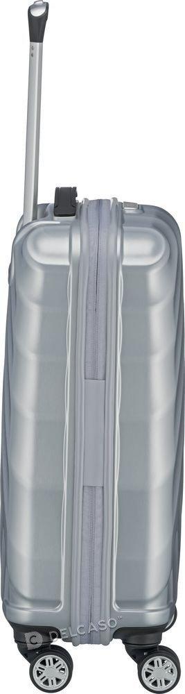 Walizka kabinowa Titan Shooting Star 55 cm mała srebrna