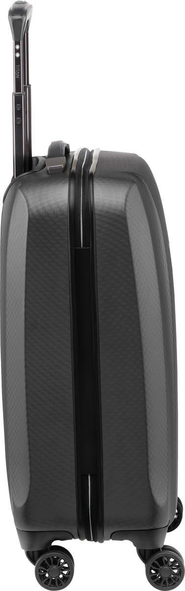 Walizka kabinowa Titan Xenon Deluxe 55 cm mała grafitowa