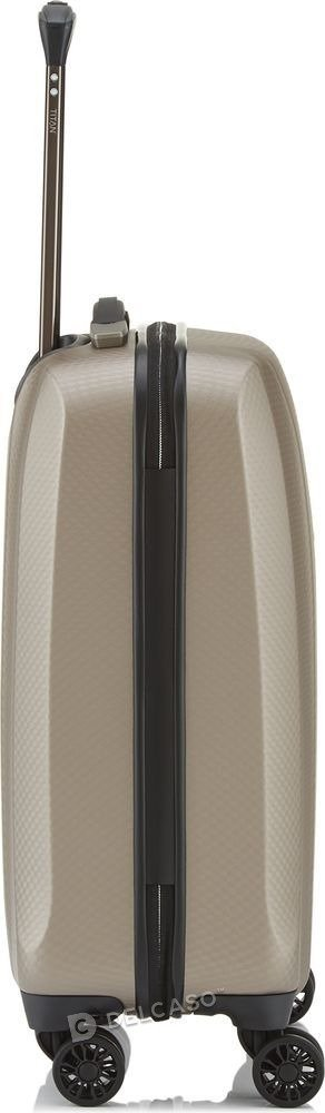 Walizka kabinowa Titan Xenon Deluxe 55 cm mała szampańska