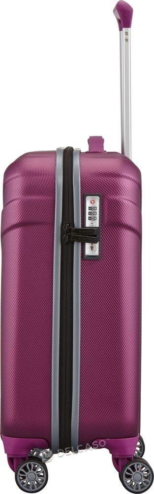 Walizka kabinowa Travelite Vector 55 cm mała fioletowa