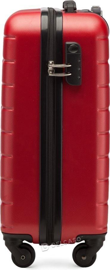 Walizka kabinowa Wittchen A-Line I 55 cm mała czerwona