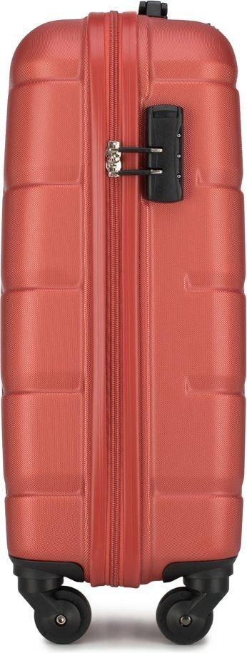 Walizka kabinowa Wittchen Arrow Line 54 cm mała czerwona