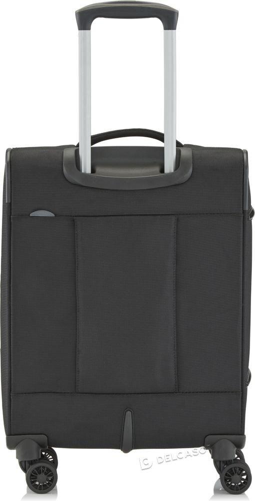 Walizka kabinowa biznesowa Travelite CrossLite 55 cm mała czarna