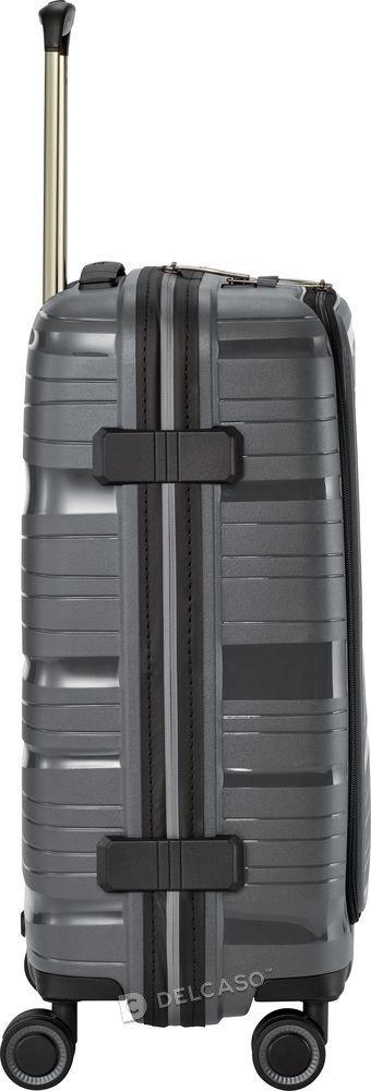 Walizka kabinowa - biznesowa Travelite Motion 55 cm mała antracytowa