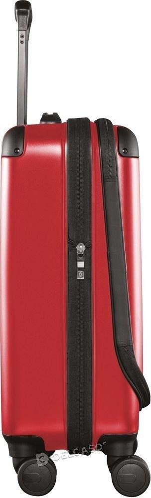Walizka kabinowa - biznesowa poszerzana Victorinox Spectra 2.0 55 cm mała czerwona