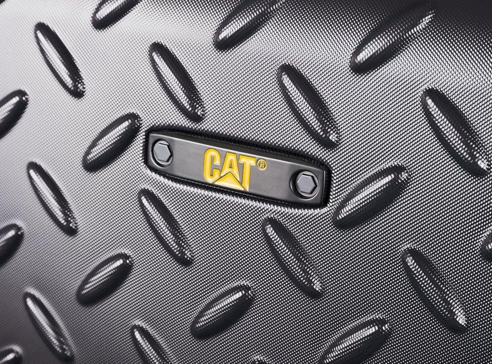 Walizka średnia Cat Caterpillar Industrial Plate 65 cm czarna