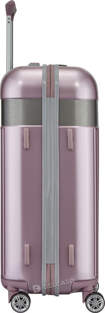 Walizka średnia Spotlight Flash 67 cm różowa