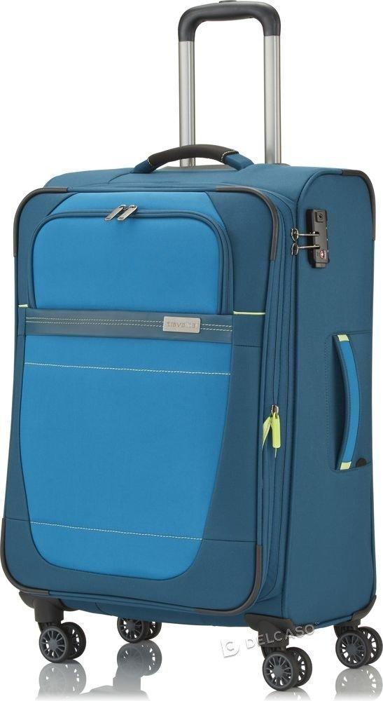 Walizka średnia Travelite Meteor 66 cm niebieski