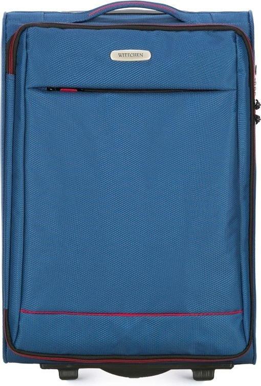 Walizka średnia Wittchen Bon Voyage 67 cm niebieska