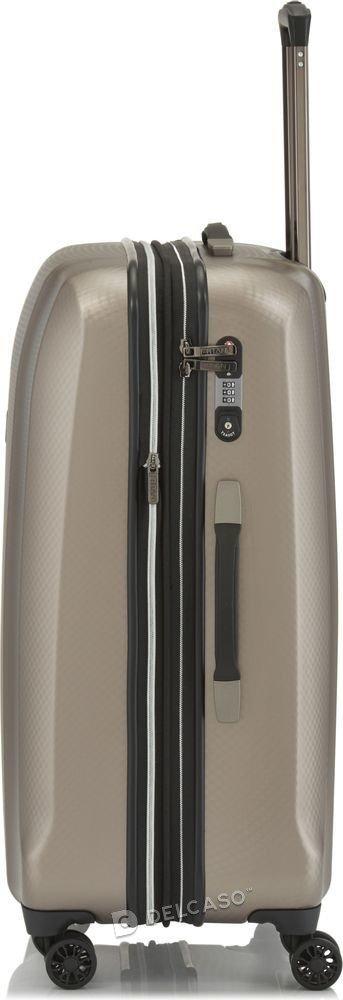 Walizka średnia - poszerzana Titan Xenon Deluxe 71 cm szampańska