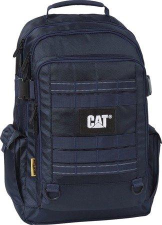 "Plecak Atacama na laptopa do 15,6"" CAT Caterpillar Combat VisiFlash niebieski"