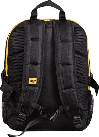 "Plecak Brent na laptopa do 15,6"" CAT Caterpillar Millennial Classic czarno-żółty"
