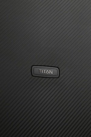 Walizka duża Titan Compax 74 cm czarna