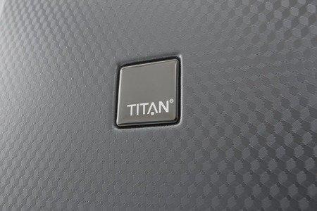 Walizka duża Titan Xenon Deluxe 74 cm grafitowa