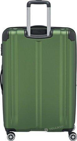 Walizka duża poszerzana Travelite City 77 cm zielona
