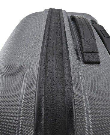 Walizka kabinowa Titan X2 Shark Skin 55 cm mała szara