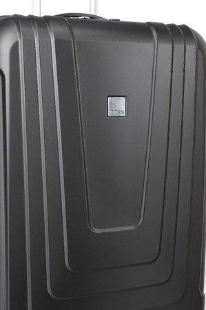 Walizka średnia Titan X-Ray Atomic 72 cm czarna