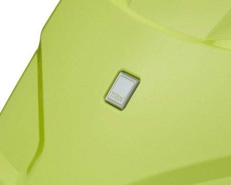 Walizka średnia Titan X2 Flash 71 cm limonkowa